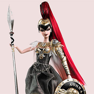 Barbie as Athena