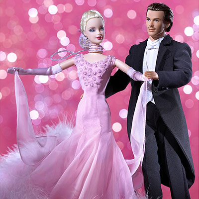 The Waltz Barbie and Ken Giftset