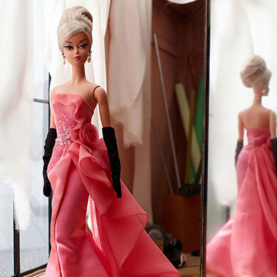 Glam Gown Barbie Doll