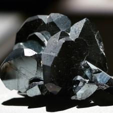 Brazilian trigonal hematite crystal