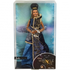 Barbie Mrs. Who Doll - Package Front