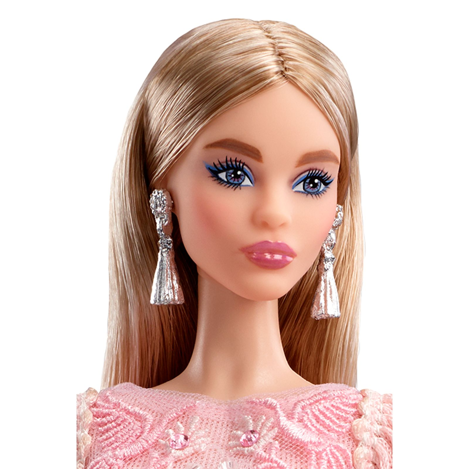 Blush Fringed Gown Barbie Doll - Perfectory Barbie Edition