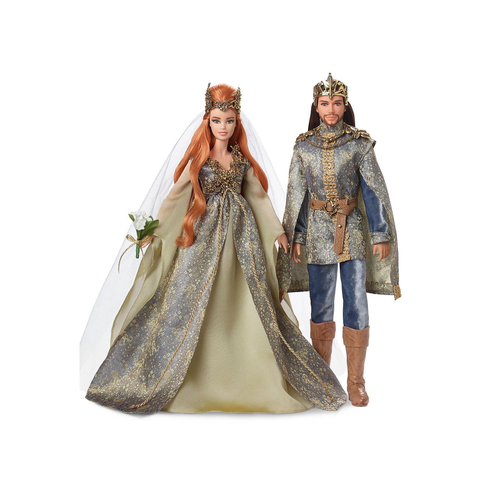 Barbie Faraway Forest Fairy Kingdom Wedding Dolls Giftset