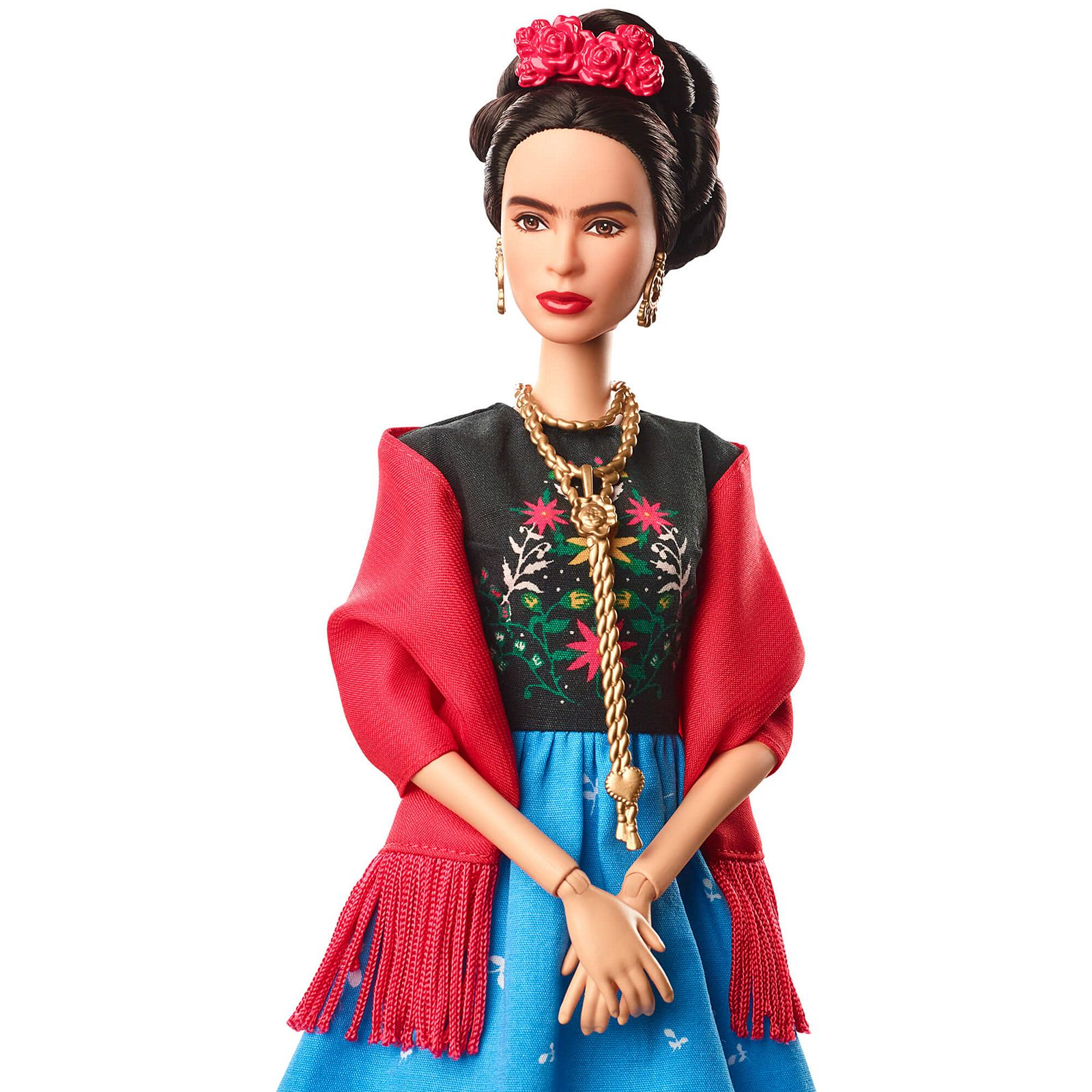 Frida Kahlo Barbie Doll Inspiring Women Series