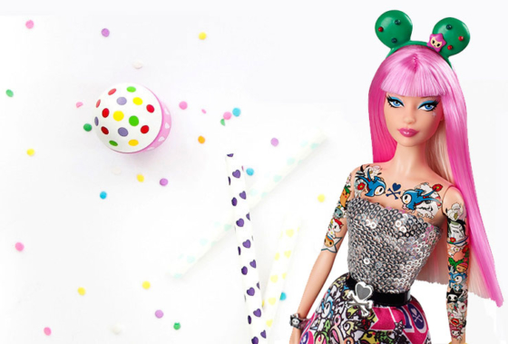 tokidoki Barbie Doll