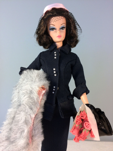 In the Pink Barbie Doll redressed in Lunch at the Club Fashion