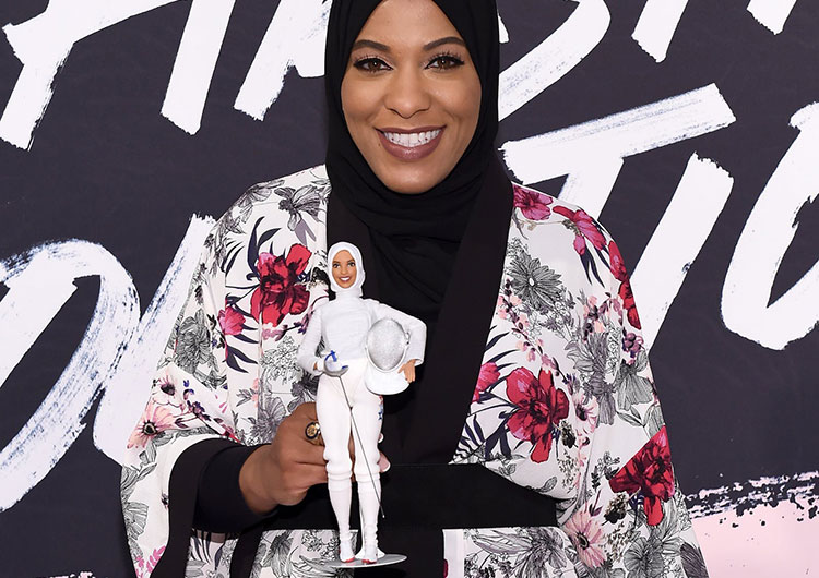 Ibtihaj Muhammad Barbie Doll Perfectory Barbie Edition