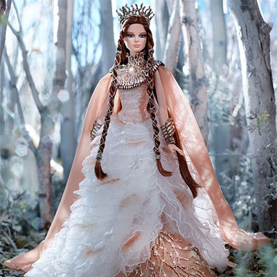 Lady of the White Woods Barbie Doll