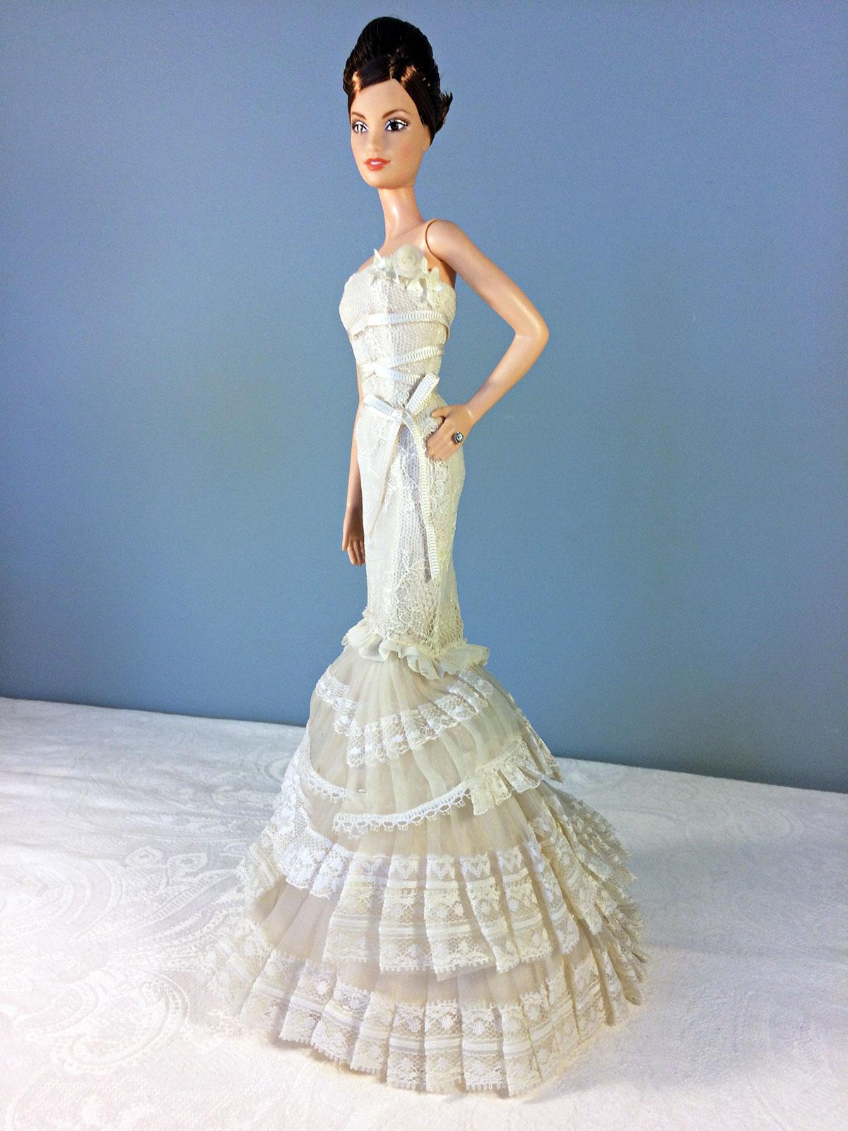 3a008f6ff94c Vera Wang Bride: The Romanticist Barbie Doll - Perfectory Barbie Edition