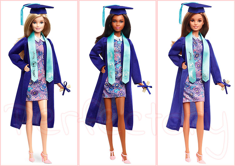 barbie graduation day doll   perfectory barbie edition