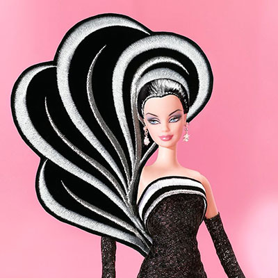 45th Anniversary Barbie By Bob Mackie African American